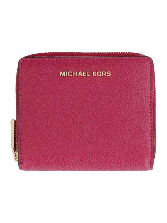 MICHAEL Michael Kors Grainy Leather Wallet