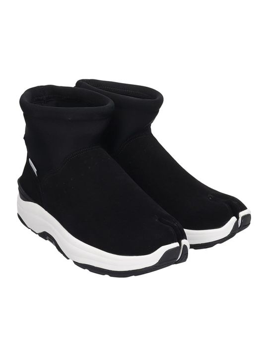 SUICOKE Maho  Sneakers In Black Tech/synthetic