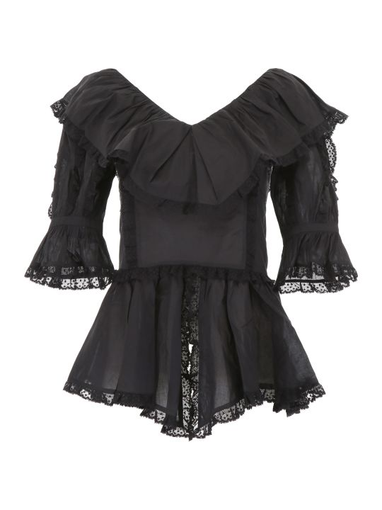 See by Chloé Ruffled Top