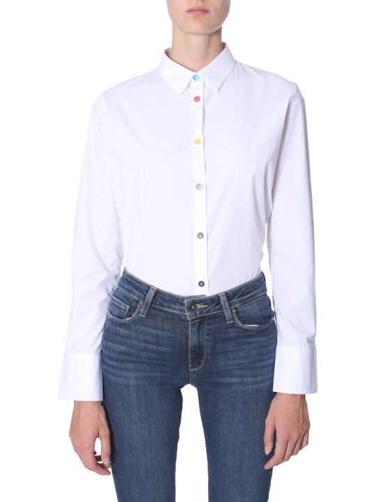 PS by Paul Smith Stretch Cotton Shirt