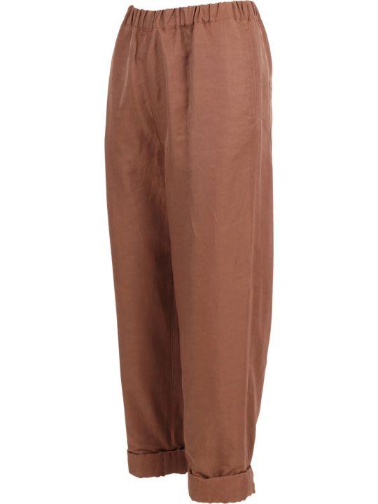 Rochas Linen Trousers
