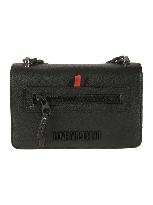 Love Moschino Flap Chain Shoulder Bag
