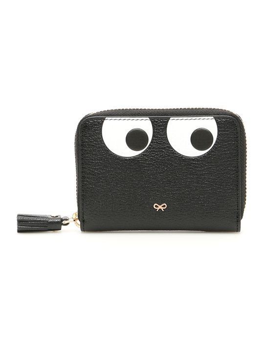 Anya Hindmarch Small Zip Around Eyes Wallet