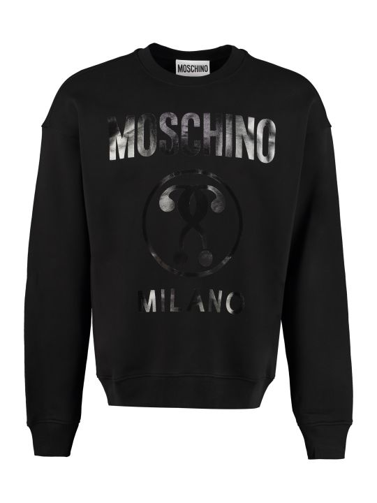 Moschino Cotton Crew-neck Sweatshirt