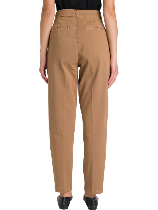 Parosh High Rise Trousers Wioth Pinces