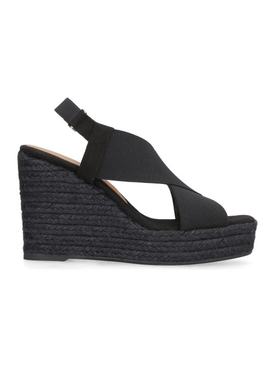 Castañer Federica Wedges With Crossed Bands