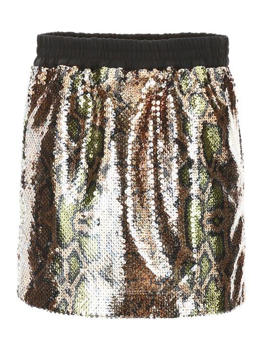N.21 Sequins Mini Skirt