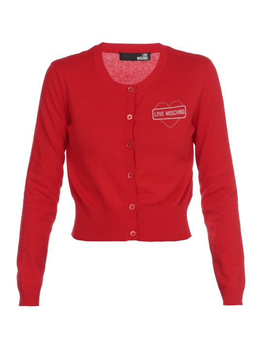 Love Moschino Cotton Cardigan
