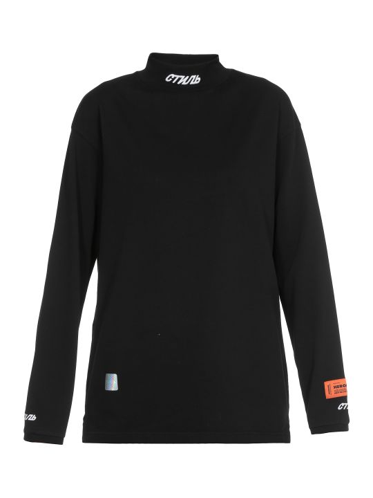 HERON PRESTON Fitted T Shirt