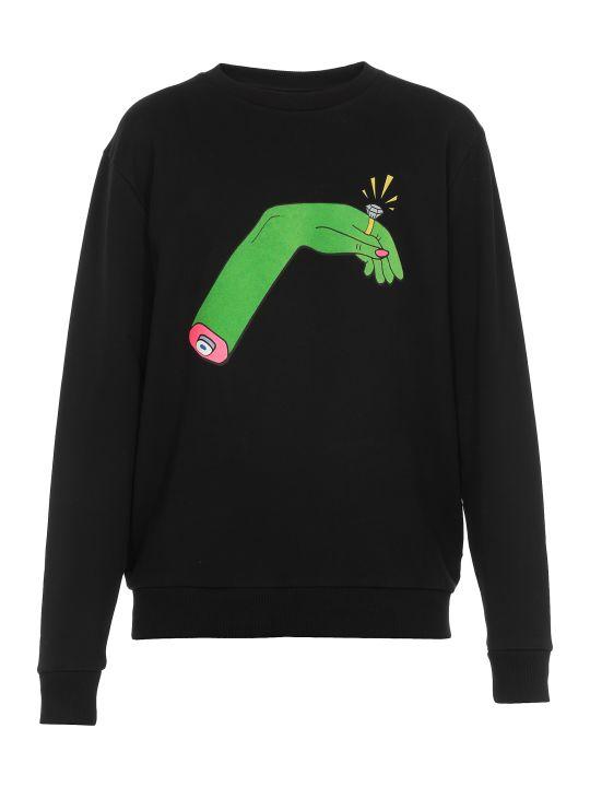Marcelo Burlon Hand Ring Sweater