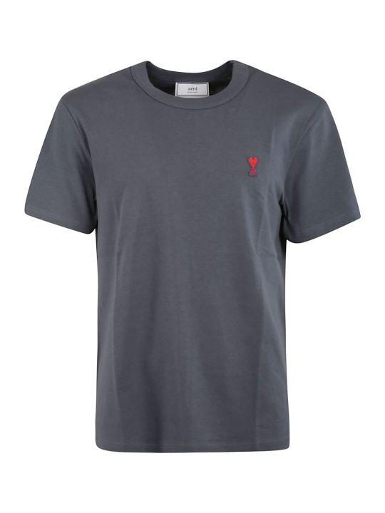 Ami Alexandre Mattiussi Embroidered T-shirt