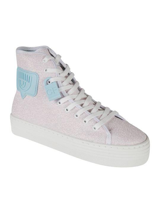 Chiara Ferragni Glitter High Sneakers