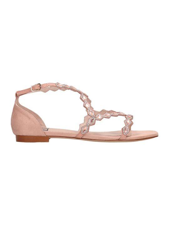 Bibi Lou Rosa Suede Sandals