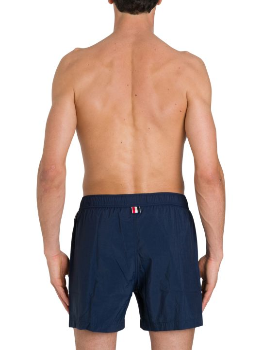 Thom Browne Swimsuit Shorts With Side Bands