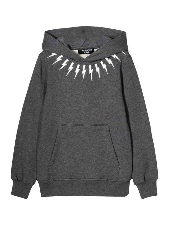 Neil Barrett Gray Teen Sweatshirt