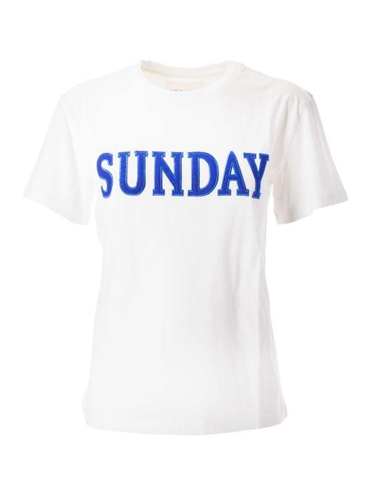 Alberta Ferretti Sunday Patch T-shirt
