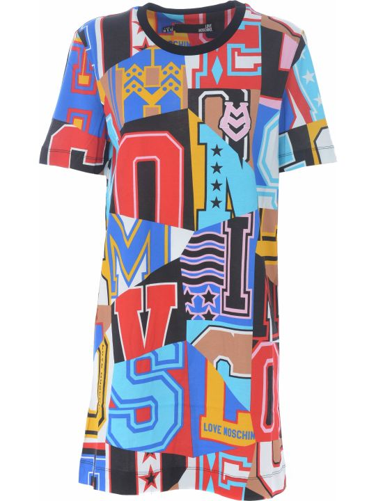 Love Moschino Patterned T-shirt