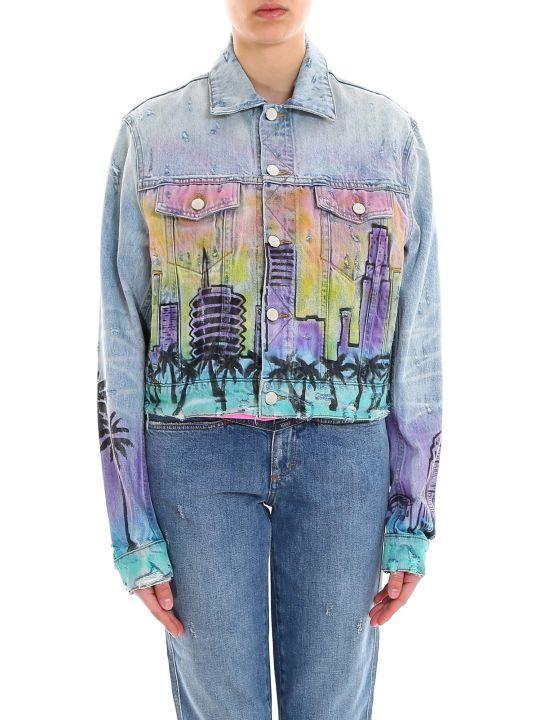 AMIRI Airbrush Hollywood Trucker Jacket