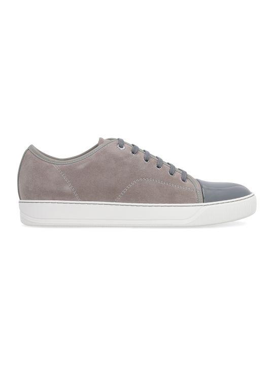 Lanvin Dbb1 Suede Sneakers