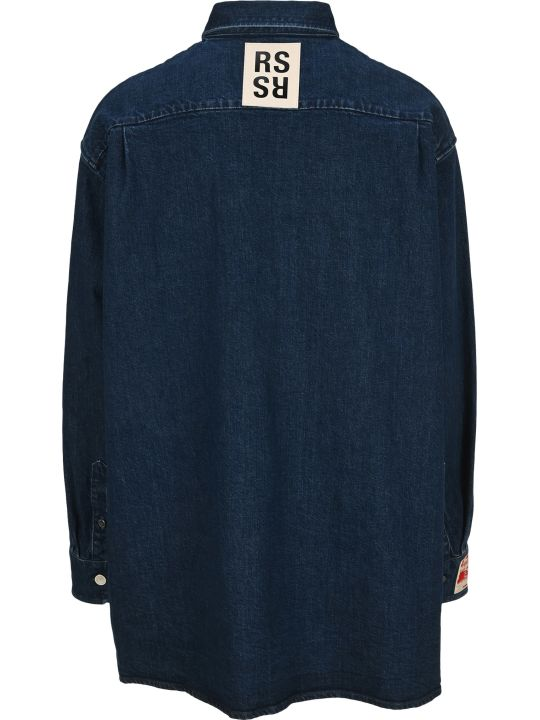 Raf Simons Oversized Denim Shirt