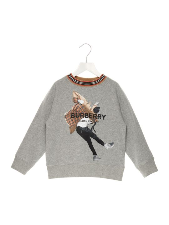 Burberry 'jumping Boy' Sweatshirt