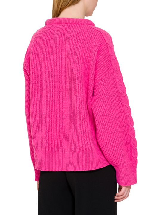 Circus Hotel Front Pocket Ribbed Sweater