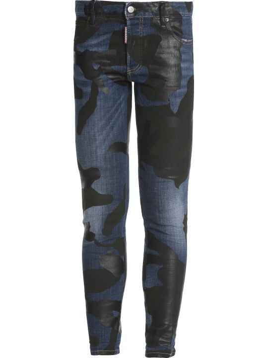 Dsquared2 Runway Straight Cropped Jean