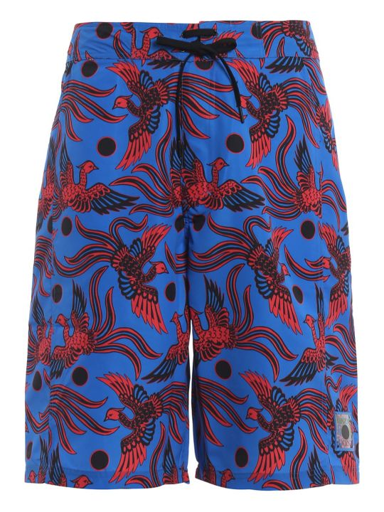 Kenzo Bird Print Swimming Shorts