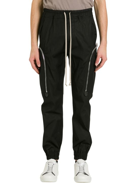 Rick Owens Cargo Jogger With Wide Pockets