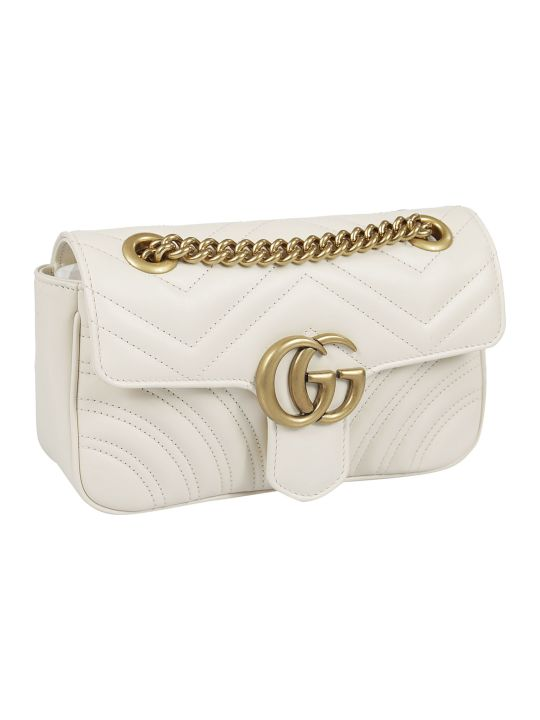 Gucci Gg Marmont Matelassé Mini Shoulder Bag