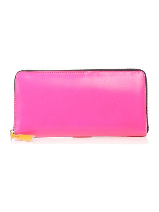 Comme des Garçons Wallet Wallet Super Fluo Leather Line