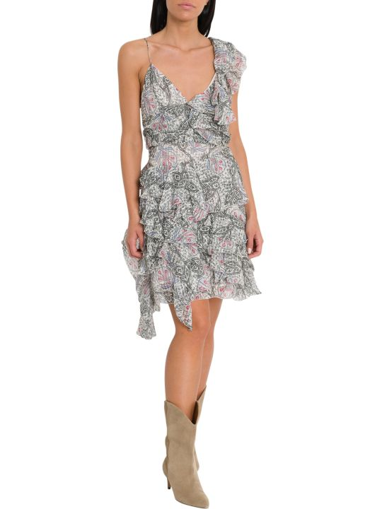 Isabel Marant Enta One Shoulder Mini Dress