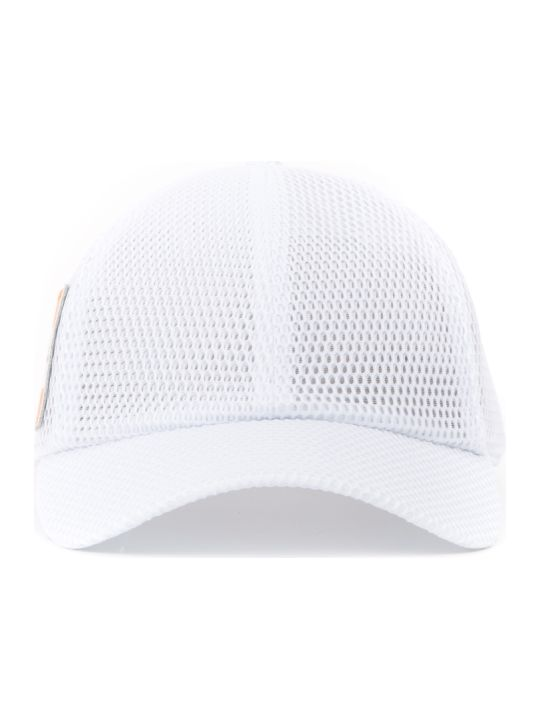 Calvin Klein Jeans White Mesh Baseball Hat
