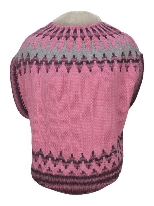 MM6 Maison Margiela Mm6 Sleeveless Knitted Top