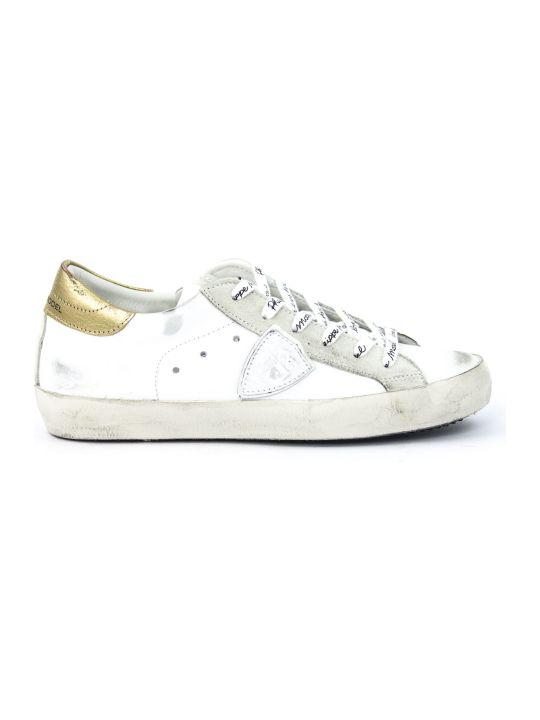 Philippe Model White Leather Paris Sneaker