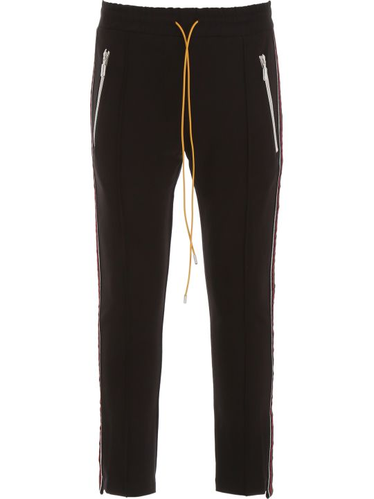 Rhude Trousers With Lurex Side Bands