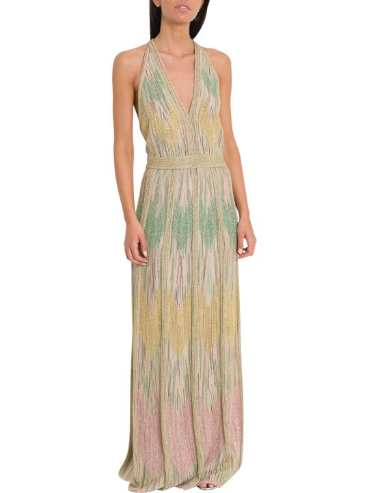 M Missoni Lurex Knit Long Dress