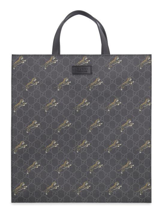 Gucci Gg Supreme Fabric Tote