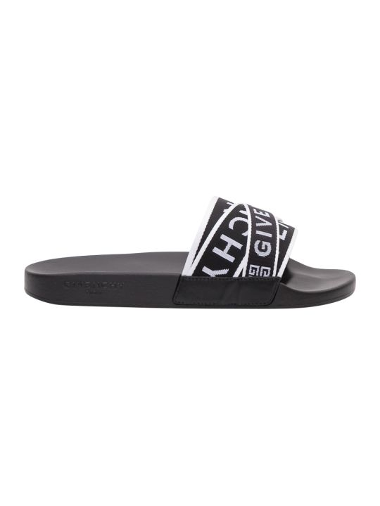 Givenchy Multi Logo Straps Slide