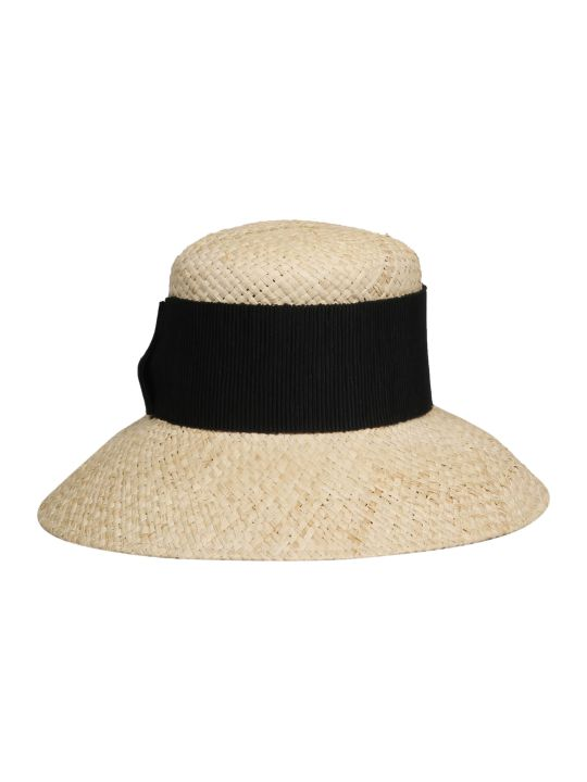 Maison Michel New Kendall Raffia Cloche Hat