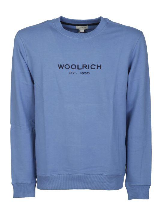Woolrich Embroidered Logo Sweatshirt