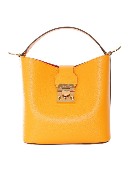 Mark Cross Marigold Murphy Small Bucket Bag