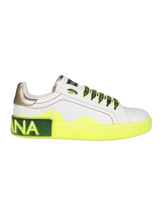 Dolce & Gabbana Plain Toe Low-top Sneakers
