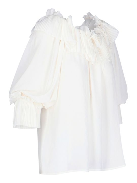 Parosh Blouse With Ruffles