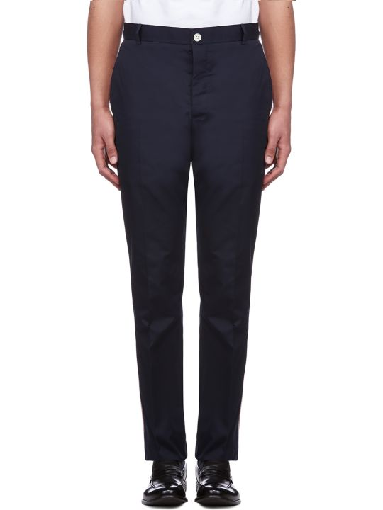 Thom Browne Striped Side Panel Trousers