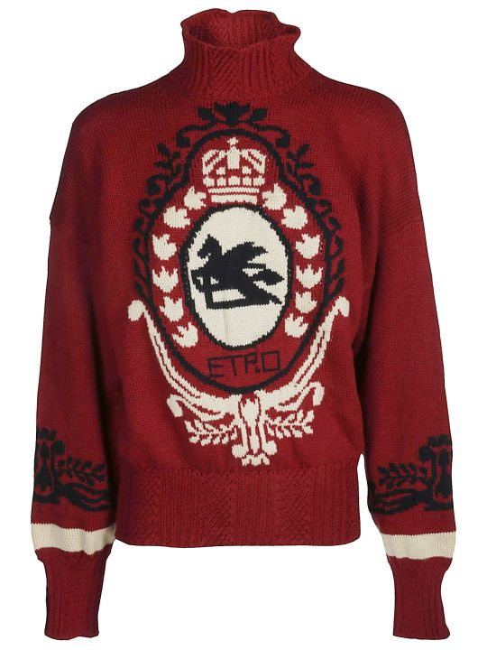 Etro Turtleneck Knit Jumper