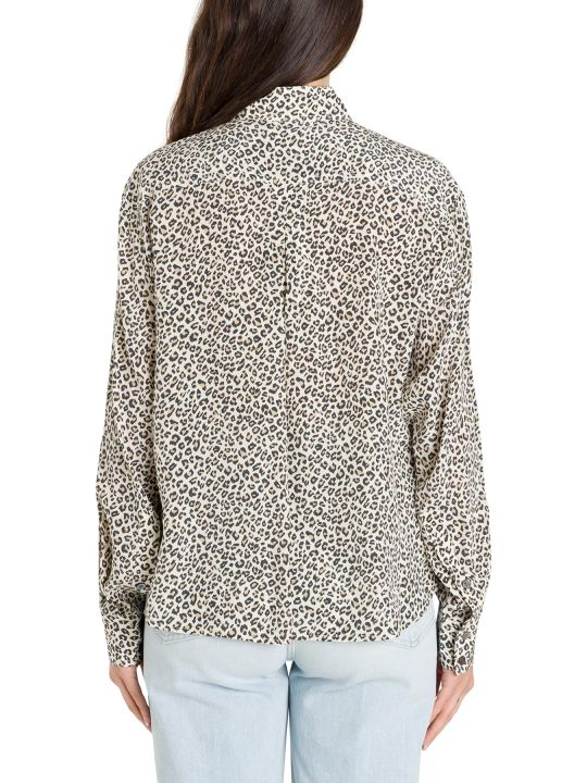 Frame Leopard Shirt