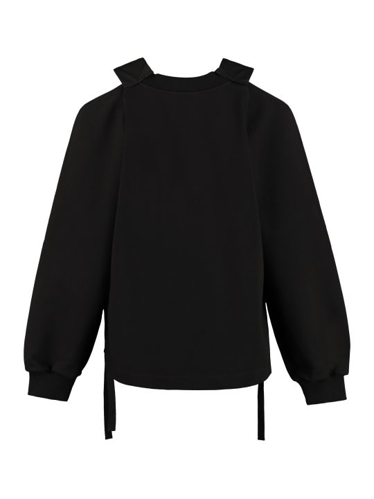 Prada Cotton Crew-neck Sweatshirt