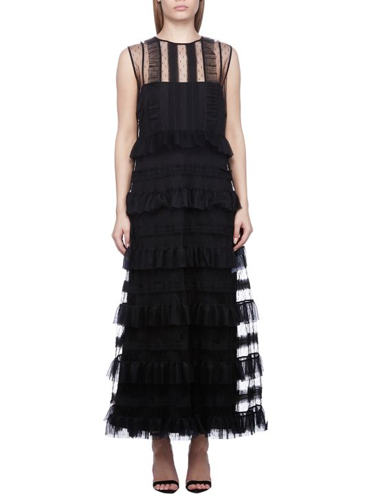 RED Valentino Tiered Tulle Dress