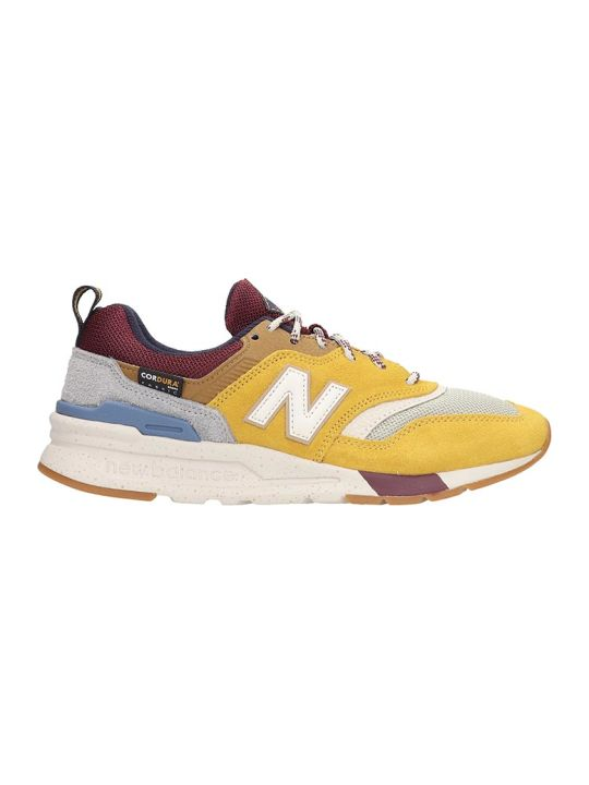 New Balance 997 Sneakers In Yellow Suede